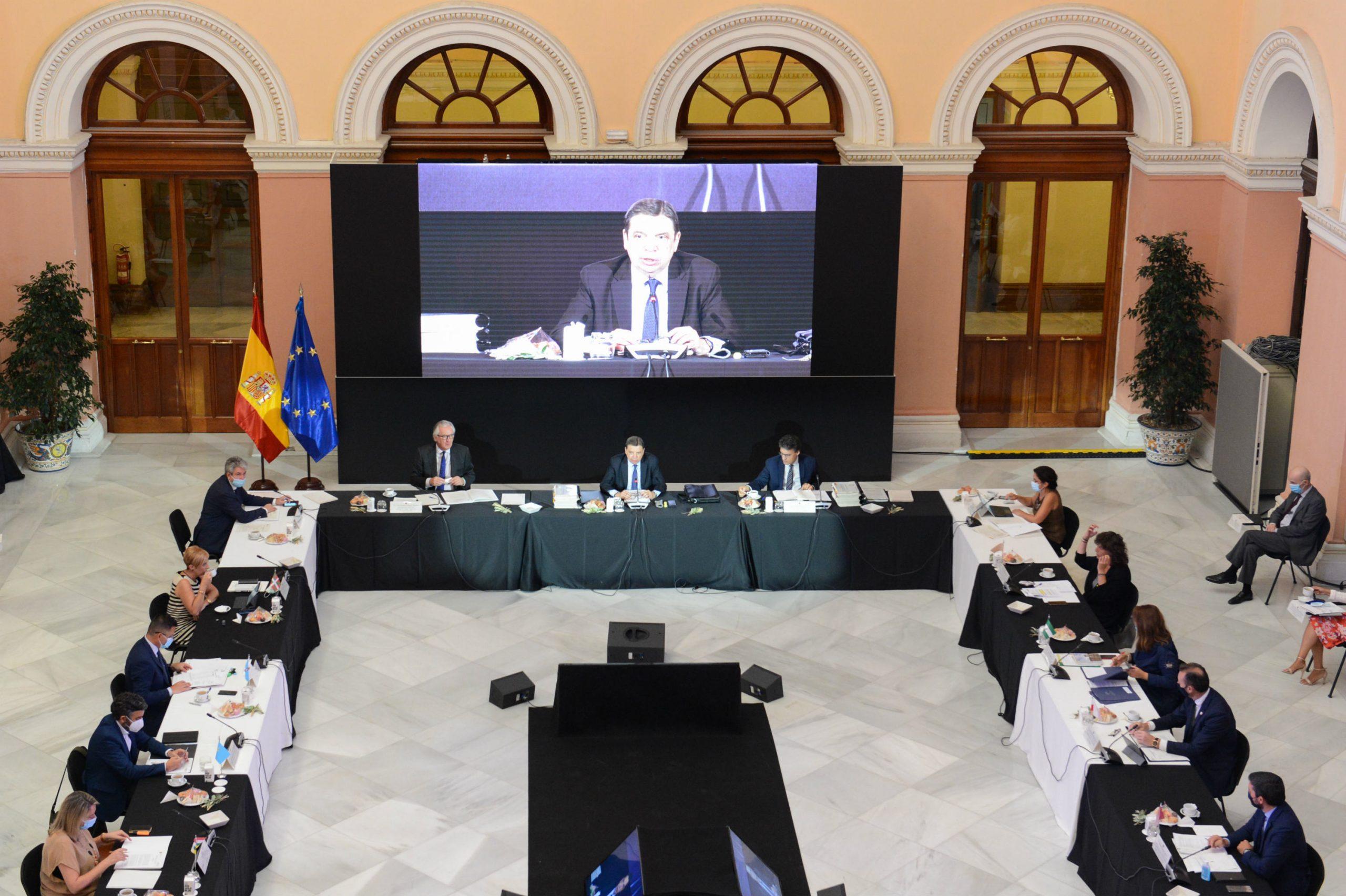 Se reúne la Conferencia Sectorial de Agricultura y Desarrollo Rural
