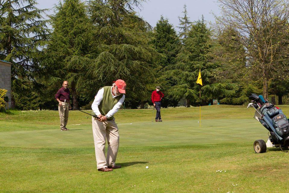 Penúltima Prueba de la Liga Open de Golf en Cierro Grande