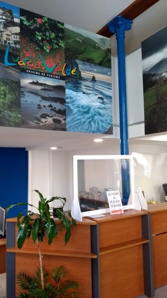El próximo lunes abrirá sus puertas la nueva Oficina de Turismo de Luarca (Valdés)
