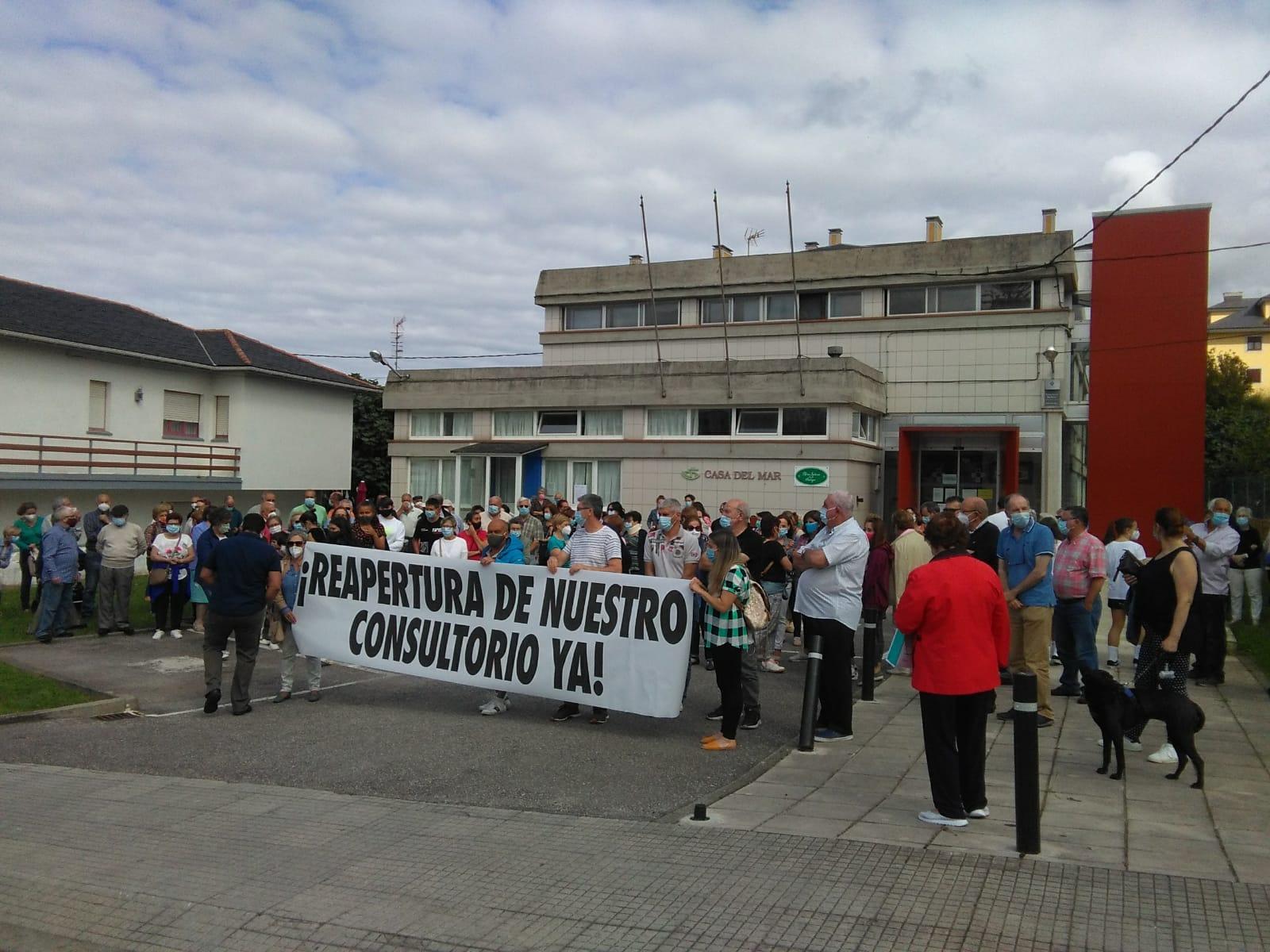 Pleno Extraordinario en Navia sobre el Centro de Salud de Puerto de Vega