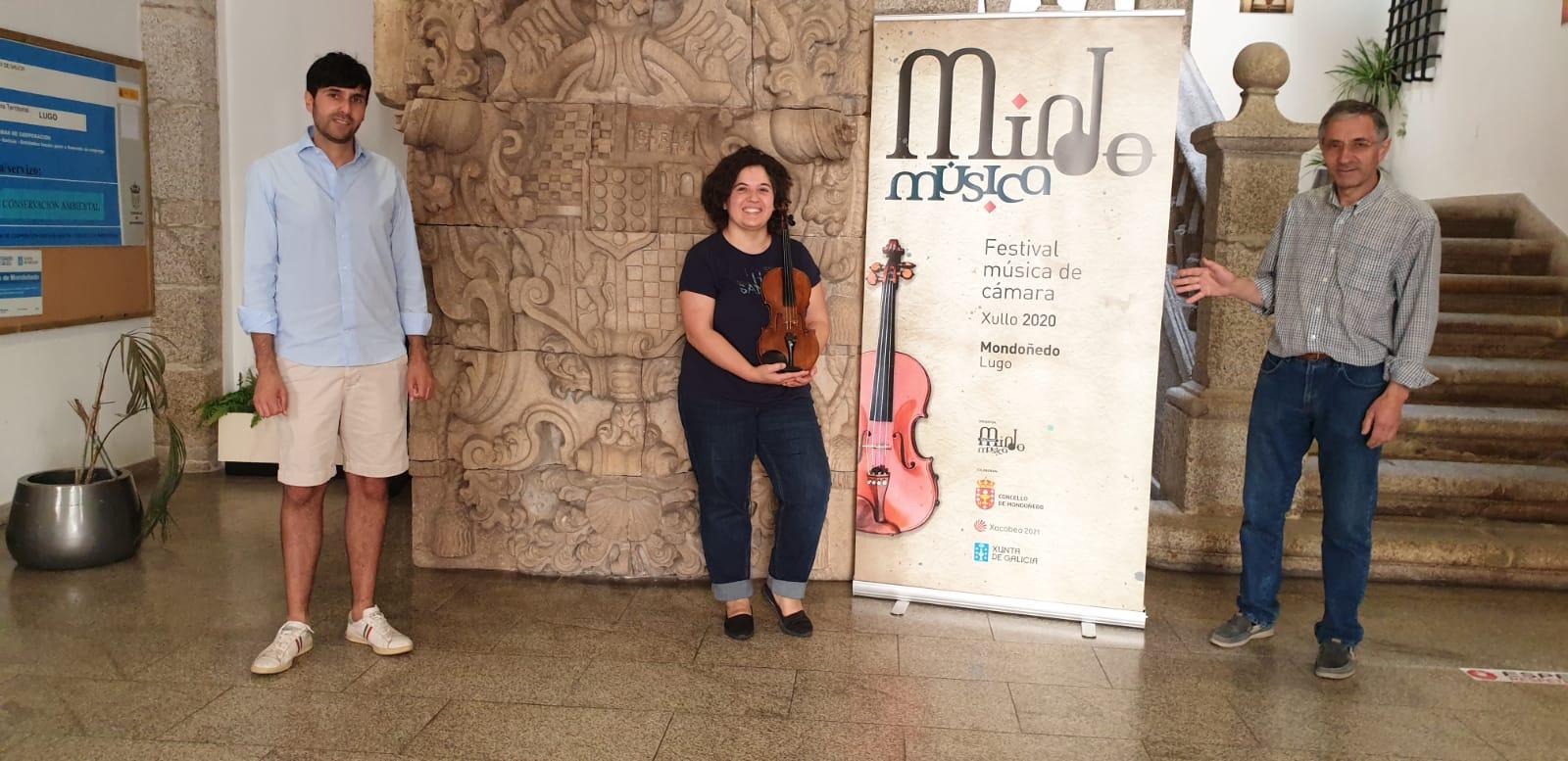 MindoMúsica – Festival de Música de Cámara ofrece tres conciertos en su 2ª edición con aforo reducido y también por streaming durante el primer fin de semana de julio