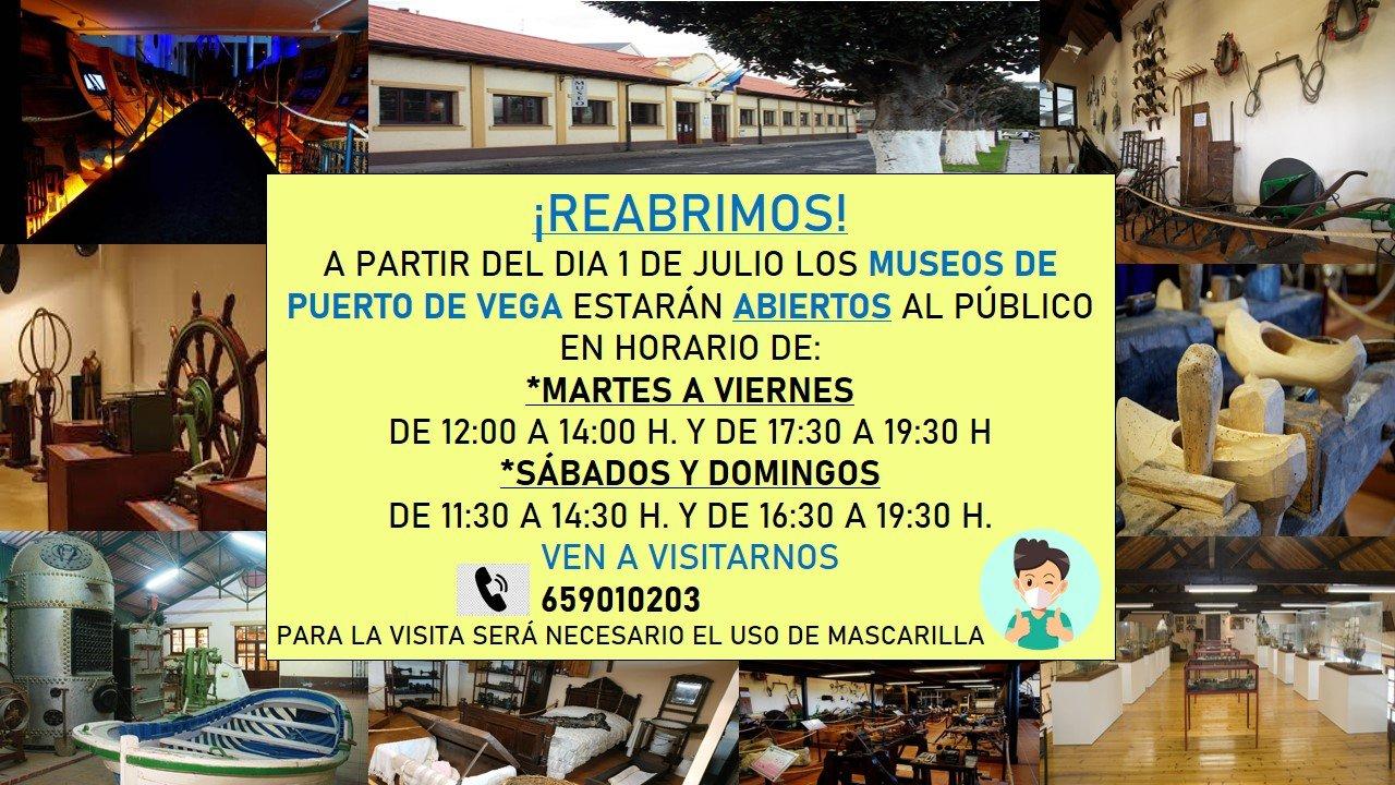 """Reapertura del Museo Etnográfico Juan Pérez Villamil y Parque Histórico del Navia """"Historias del Mar"""""""