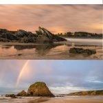 Castropol lanza una web para conocer en directo el aforo de las playas de Arnao y Penarronda