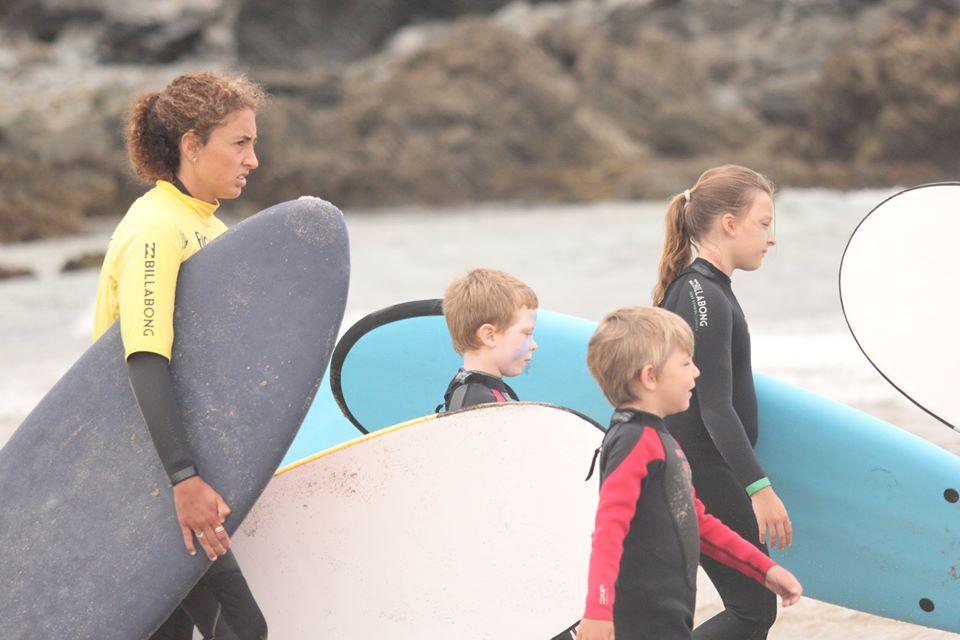 """Pedro Méndez (Club Picante Surf): """"está siendo un verano muy bueno en cuanto asistencia a nuestra escuela a pesar del Covid"""""""