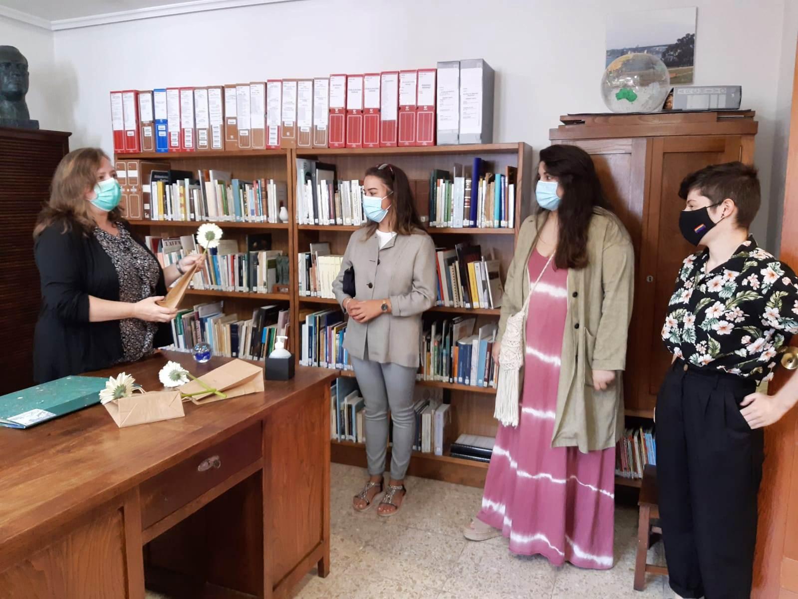 Entrega de premios del IV Certamen Xuvenil Literario e de Artes Plásticas Concello de Ribadeo