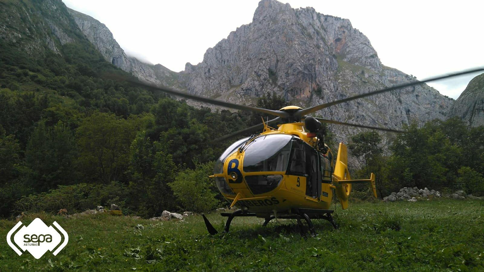 Nuevo Rescate de Montaña en Cabrales