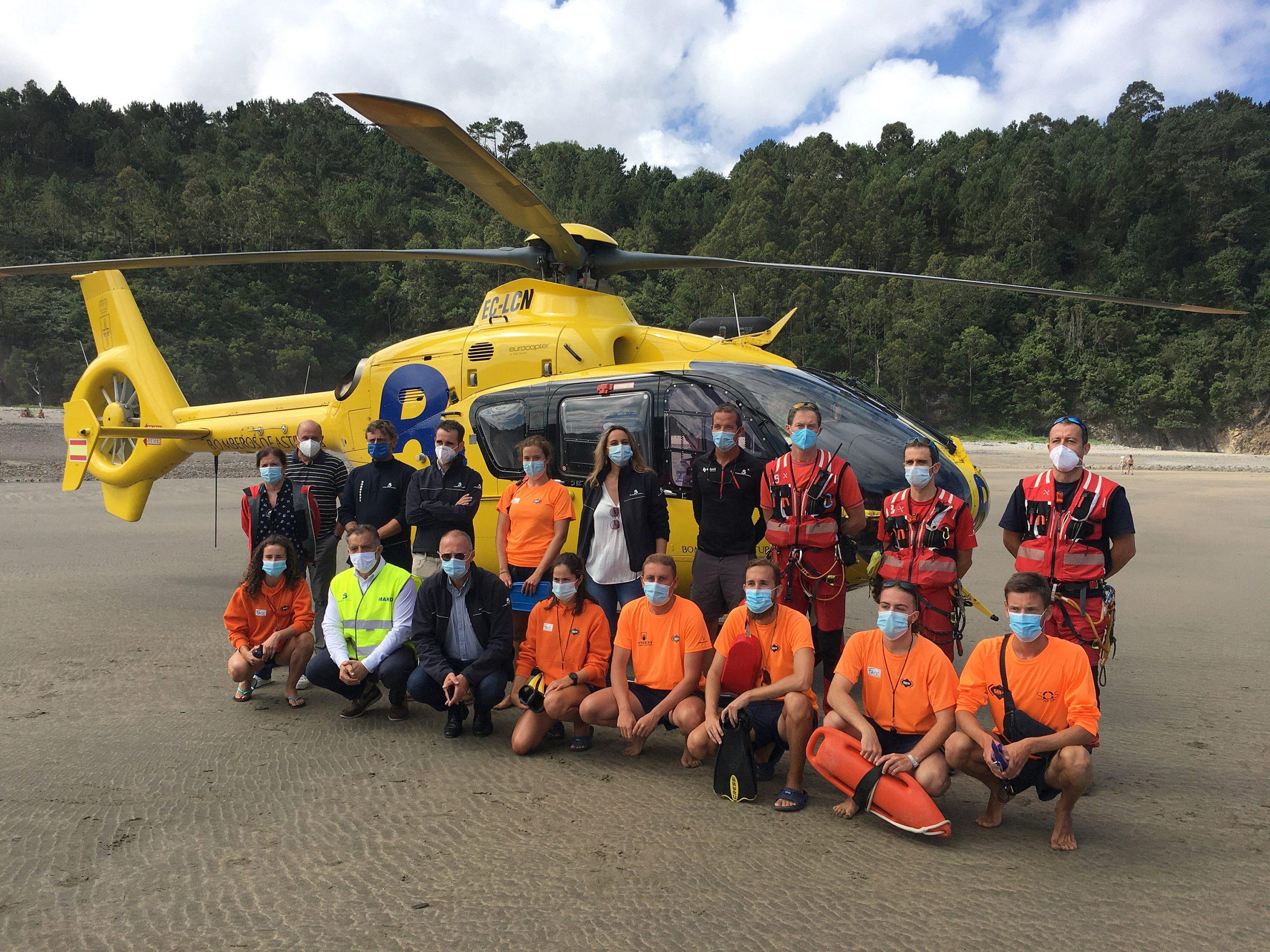 Rescates marítimos en la playa de Otur (Valdés) y del Silencio (Cudillero) esta tarde