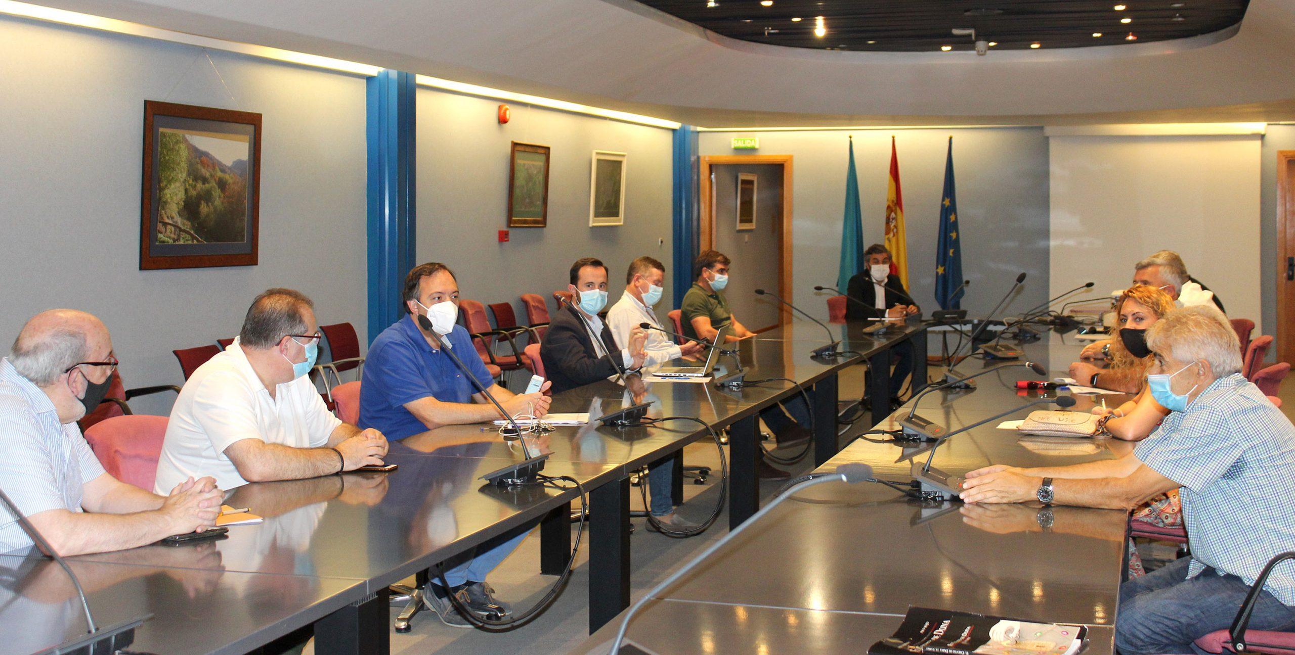 Reunión con los presidentes de los grupos de desarrollo rural