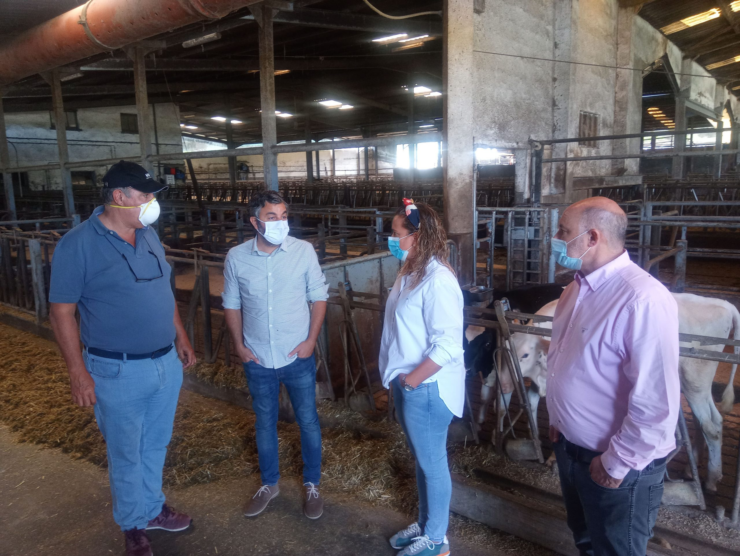 """Alejandro Calvo (consejero Medio Rural): la Cornisa Cantábrica quiere """"un tratamiento específico para el sector lácteo y un plan estratégico sectorial"""""""