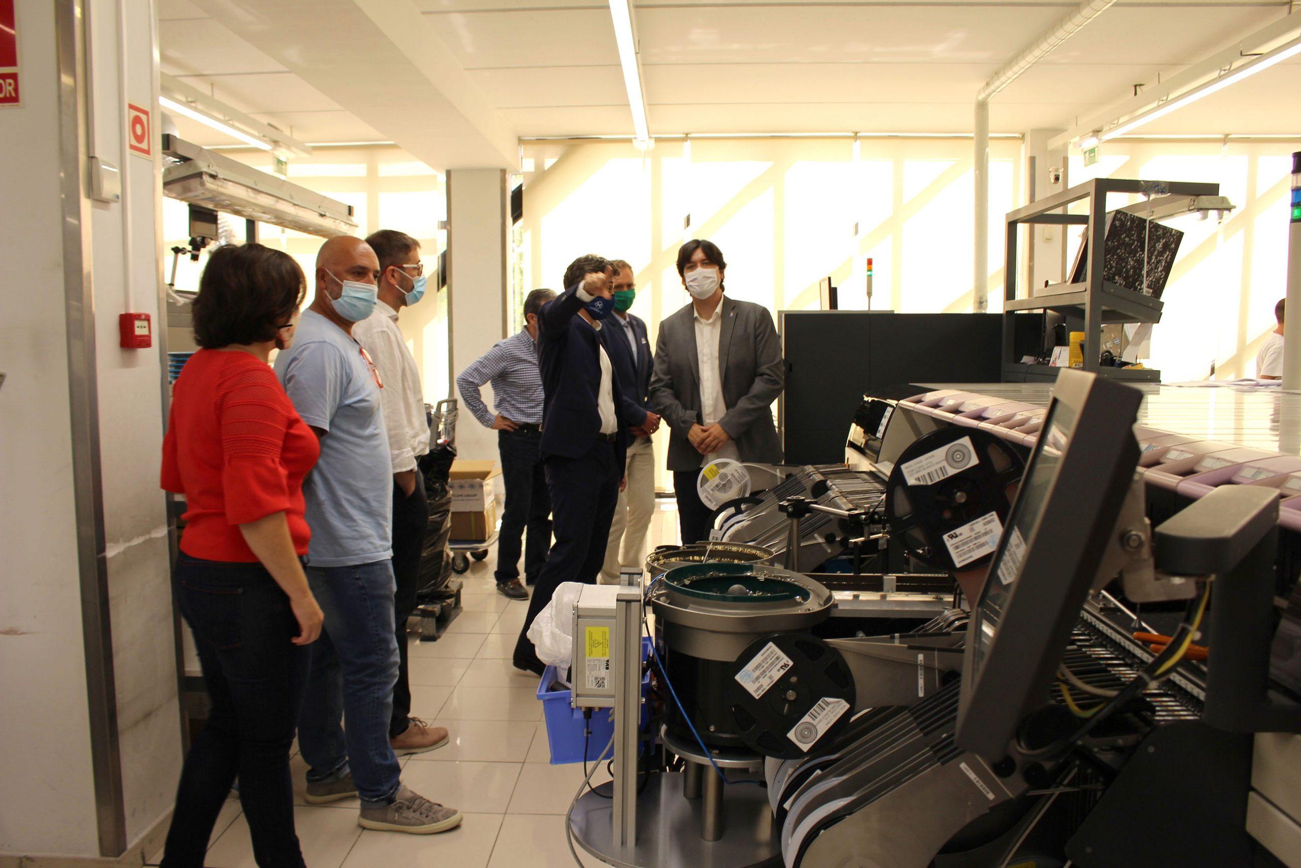 Asturias capta un millón en Europa para desarrollar una línea durmiente de fabricación de dispositivos contra la covid-19
