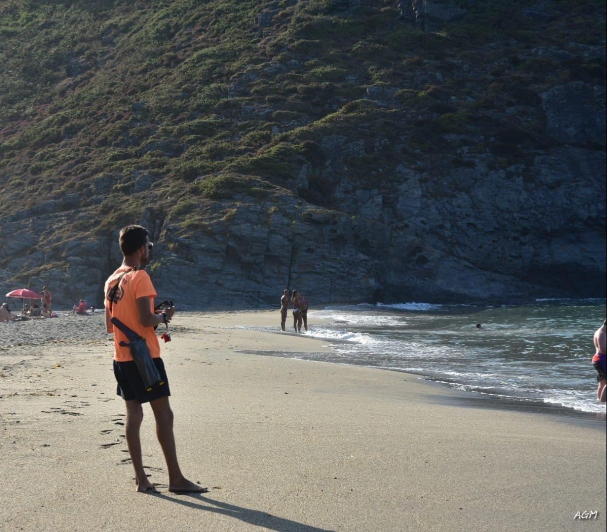 """""""Han valorado muy positivamente que la playa de Torbas (Coaña) tuviese socorrismo diario otra vez"""""""