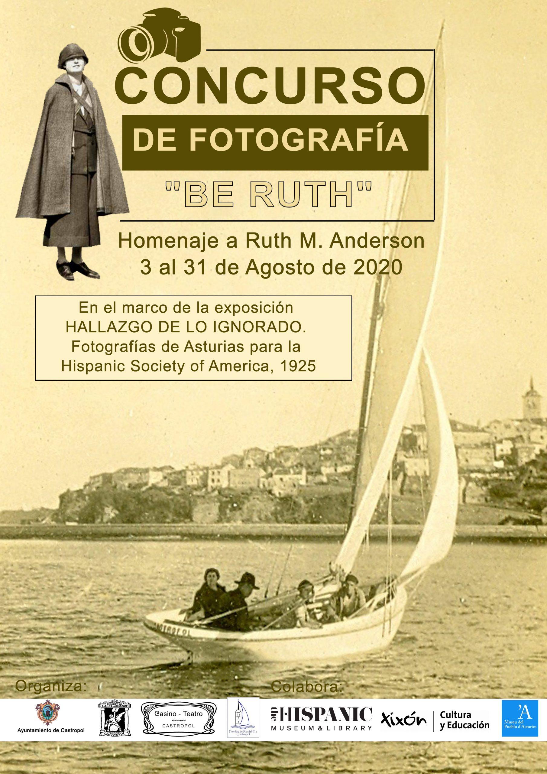 """Concurso de Fotografía """"Be Ruth"""", homenaje a Ruth Matilda Anderson"""