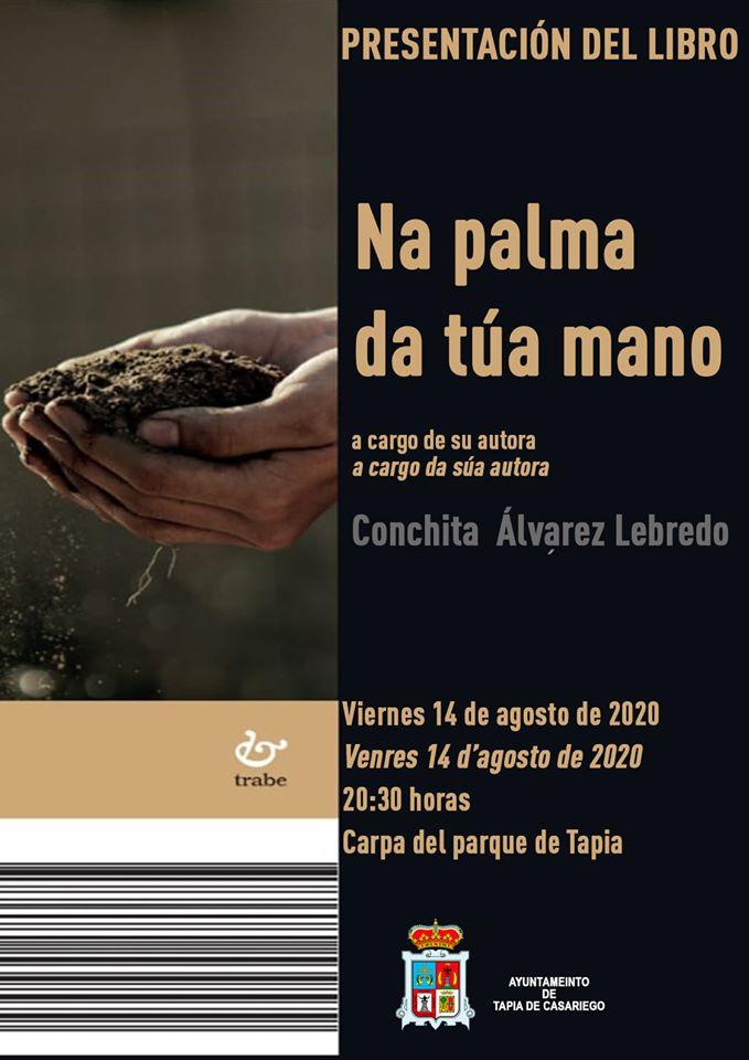 """Presentación del libro """"Na palma da túa mano"""" en Tapia de Casariego"""