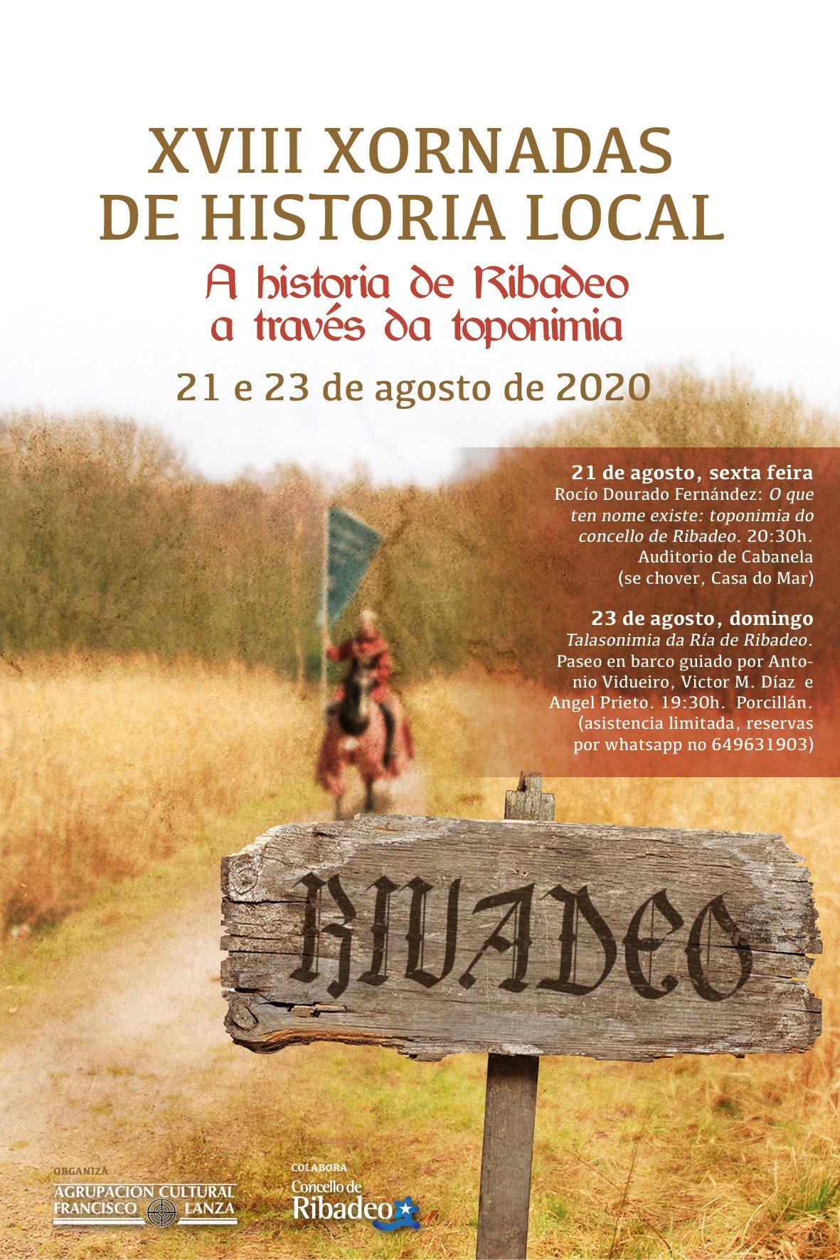 Comienzan las XVIII Jornadas de Historia Local de Ribadeo