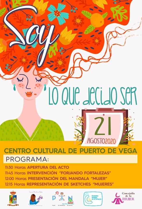 """Jornada """"Soy lo que decido ser"""", sobre igualdad, en Puerto de Vega"""