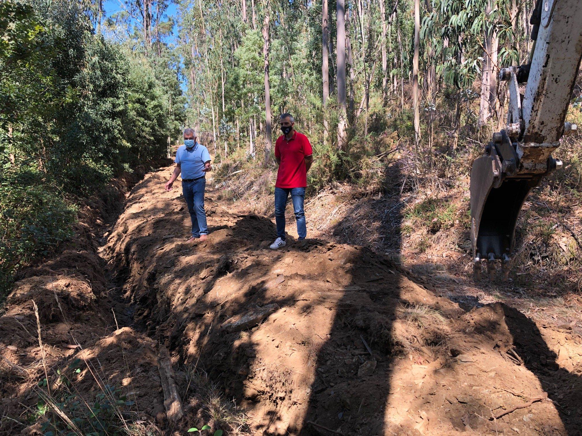 Comienzan las obras para mejorar el suministro de agua potable a Covelas, Cedofeita y Arante (Ribadeo)