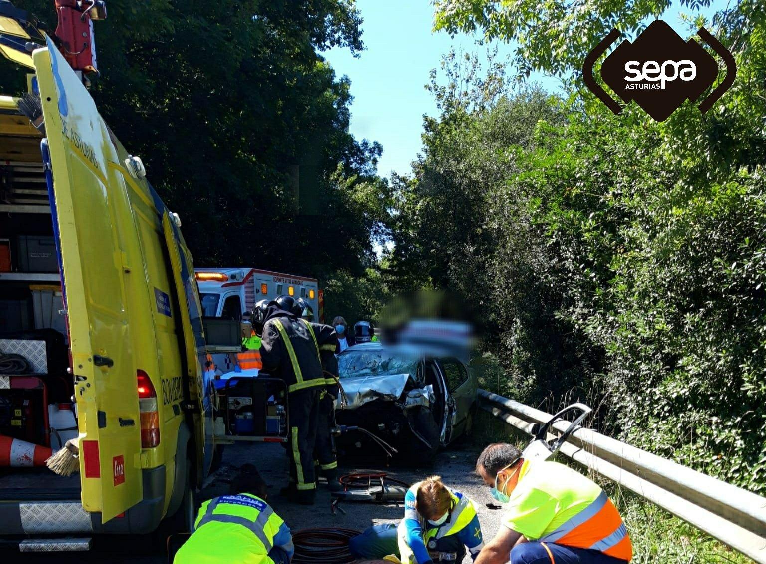 Fallece una persona en un accidente de tráfico en Llanes