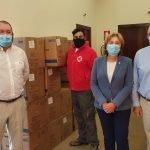 La Delegación del Gobierno en Asturias distribuye 326.000 mascarillas entre ayuntamientos y entidades sociales