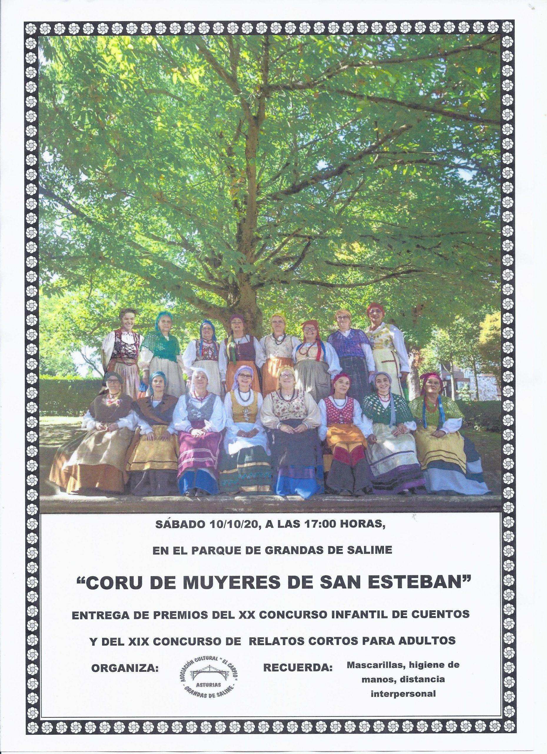 Ganadores de los Concursos Literarios convocados por El Carpio (Grandas de Salime)