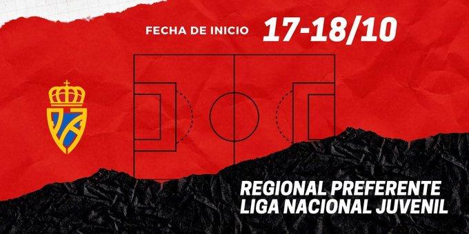 La RFFPA anuncia que las categorías de Regional Preferente y Liga Nacional Juvenil comenzarán la Liga el fin de semana del 17-18 de octubre