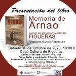 """Presentación del libro """"Memoria de Arnao, Campo de Concentración de Figueras"""", de Fernando García"""