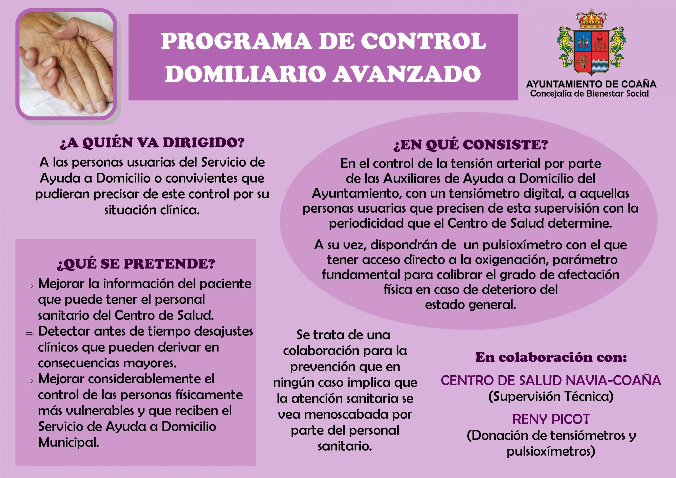 Coaña pone en marcha el Programa de Control Domiciliario Avanzado