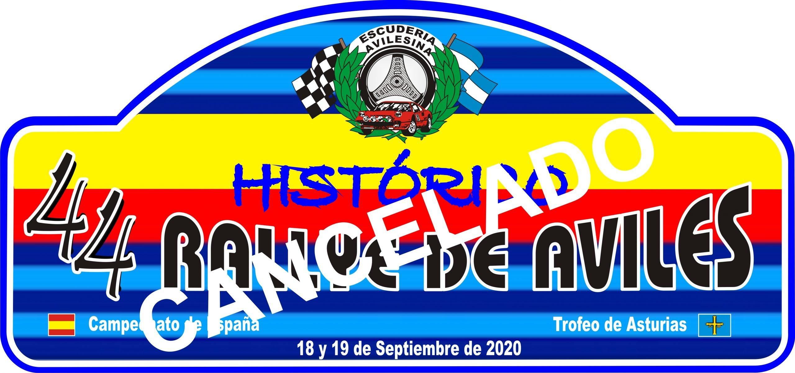La Consejería de Salud Prohibe la celebración del 44 Rallye de Avilés Histórico