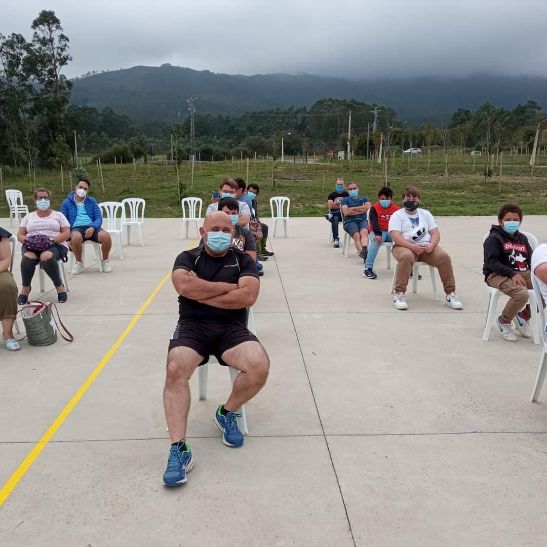 El Beone Rugby presentó en el campamento de A Devesa su Proyecto para esta temporada