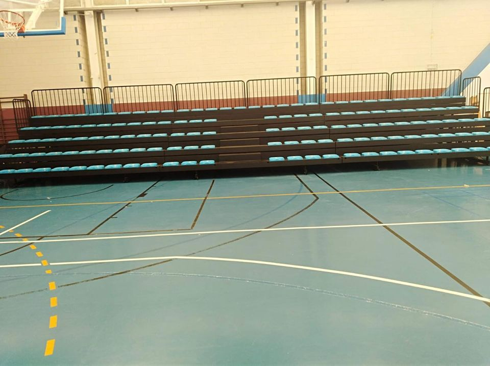 Mejoras en el Polideportivo Municipal de la Granja (Navia)
