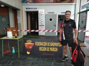 Dos Victorias para el luarqués Luis Paredano, en la Primera Prueba del Ranking Nacional Senior de Bádminton