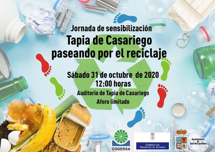 Jornada de sensibilización Tapia de Casariego paseando por el reciclaje el próximo sábado