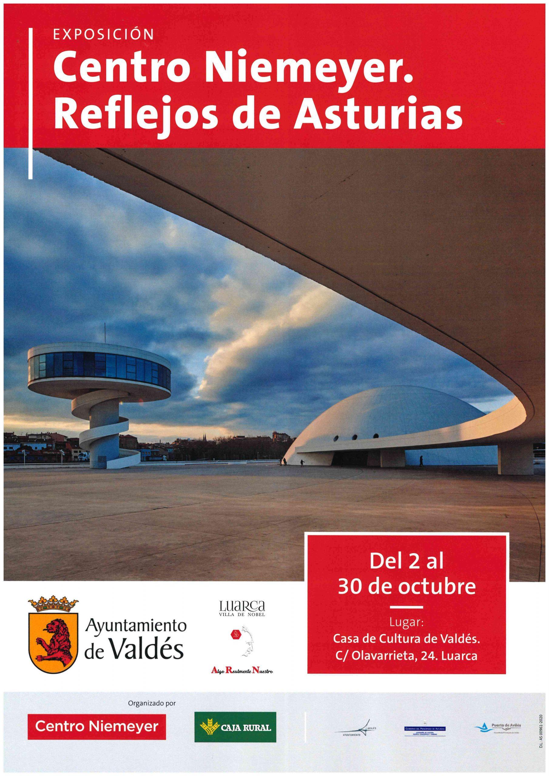 """Mañana se inaugura en la Casa de Cultura de Luarca """"Centro Niemeyer. Reflejos de Asturias"""""""