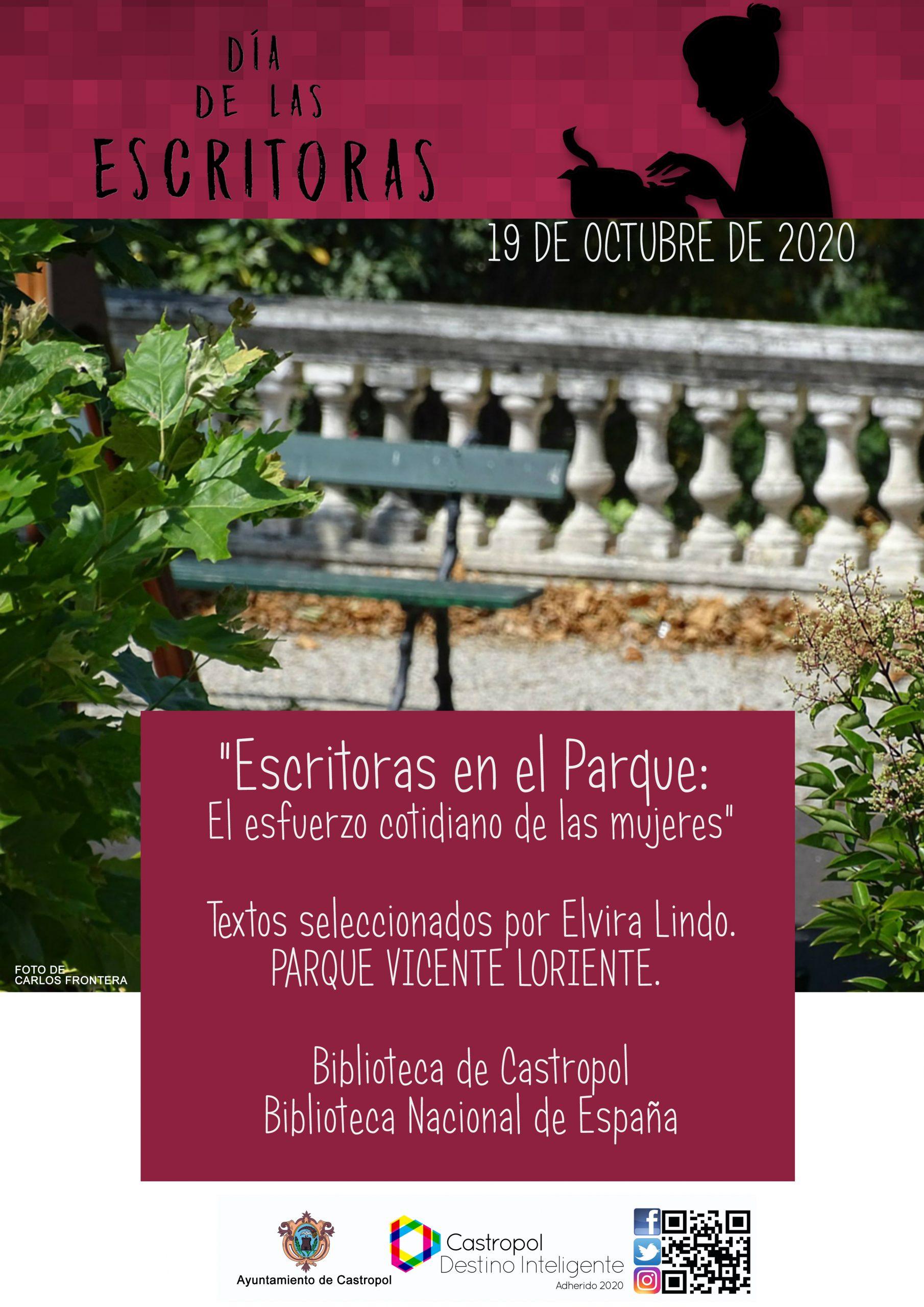 """""""Escritoras en el Parque"""", desde la Bibloteca de Castropol"""