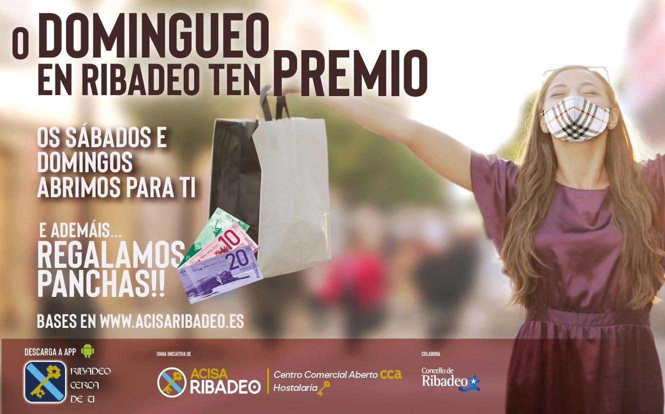 Sonia Fernández Amor es la afortunada del primer Sorteo de Panchas que ACISA realizó hoy viernes en Ribadeo