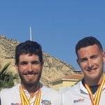 Los vegadenses Iván Rico y Gonzalo Pérez consiguen una Plata y un Cuarto puesto  respectivamente en el nacional de Remo
