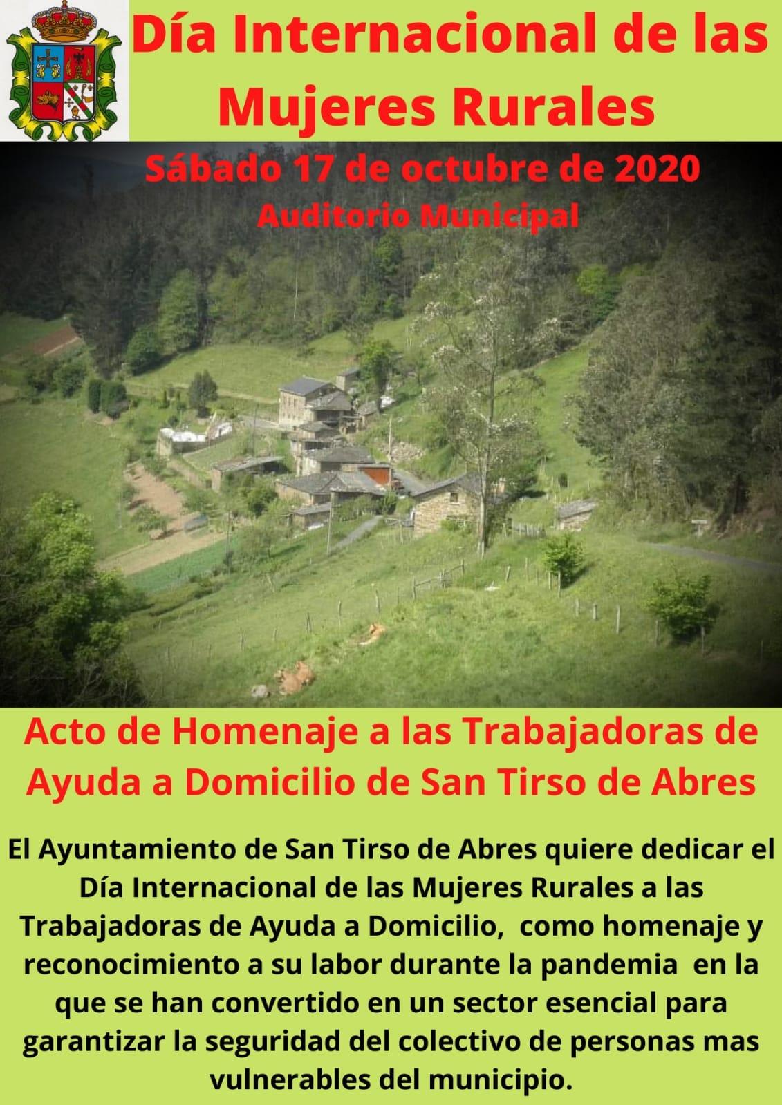San Tirso homenajea a las trabajadoras del Servicio de Ayuda a Domicilio