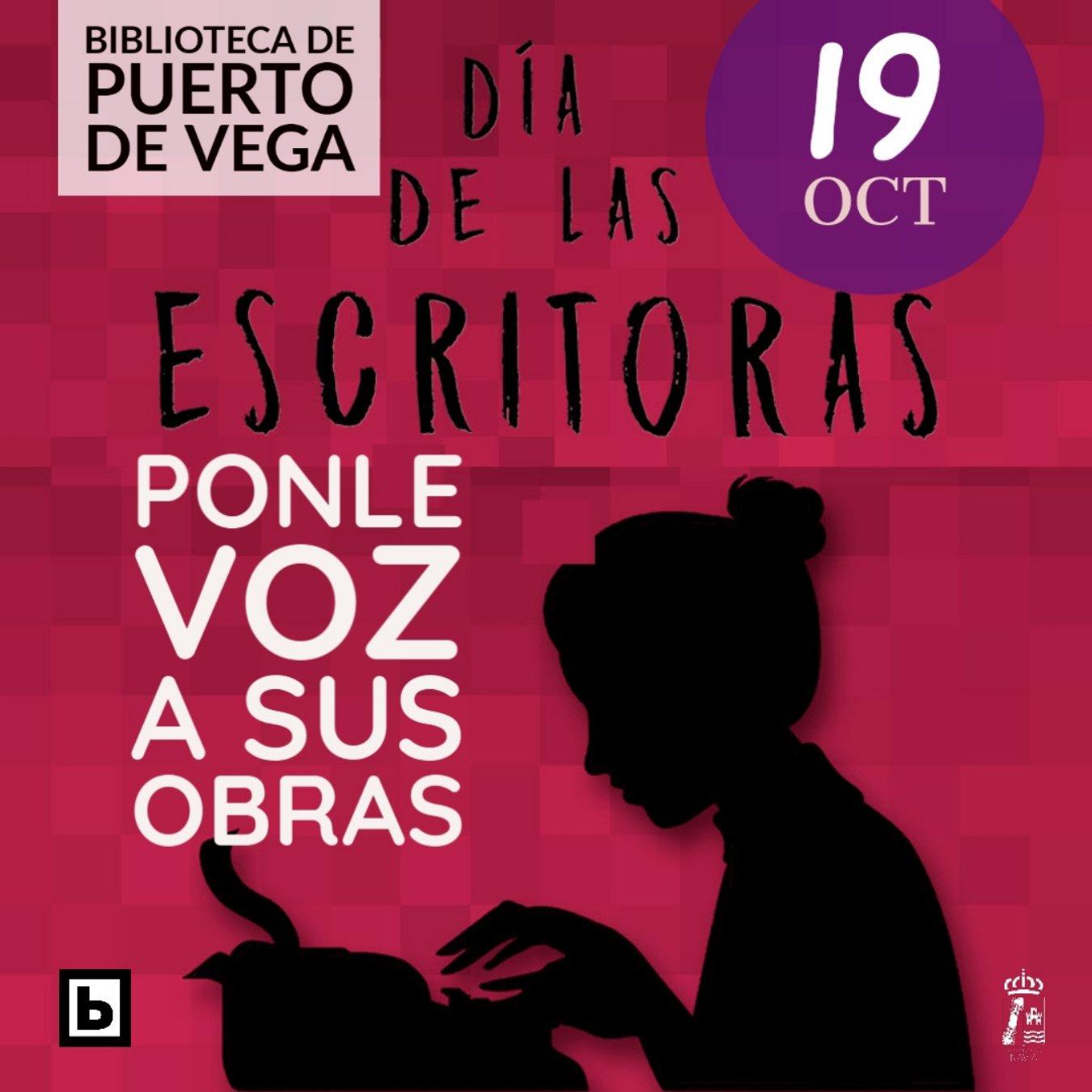 La Biblioteca de Puerto de Vega se suma a la celebración del Día de las Escritoras