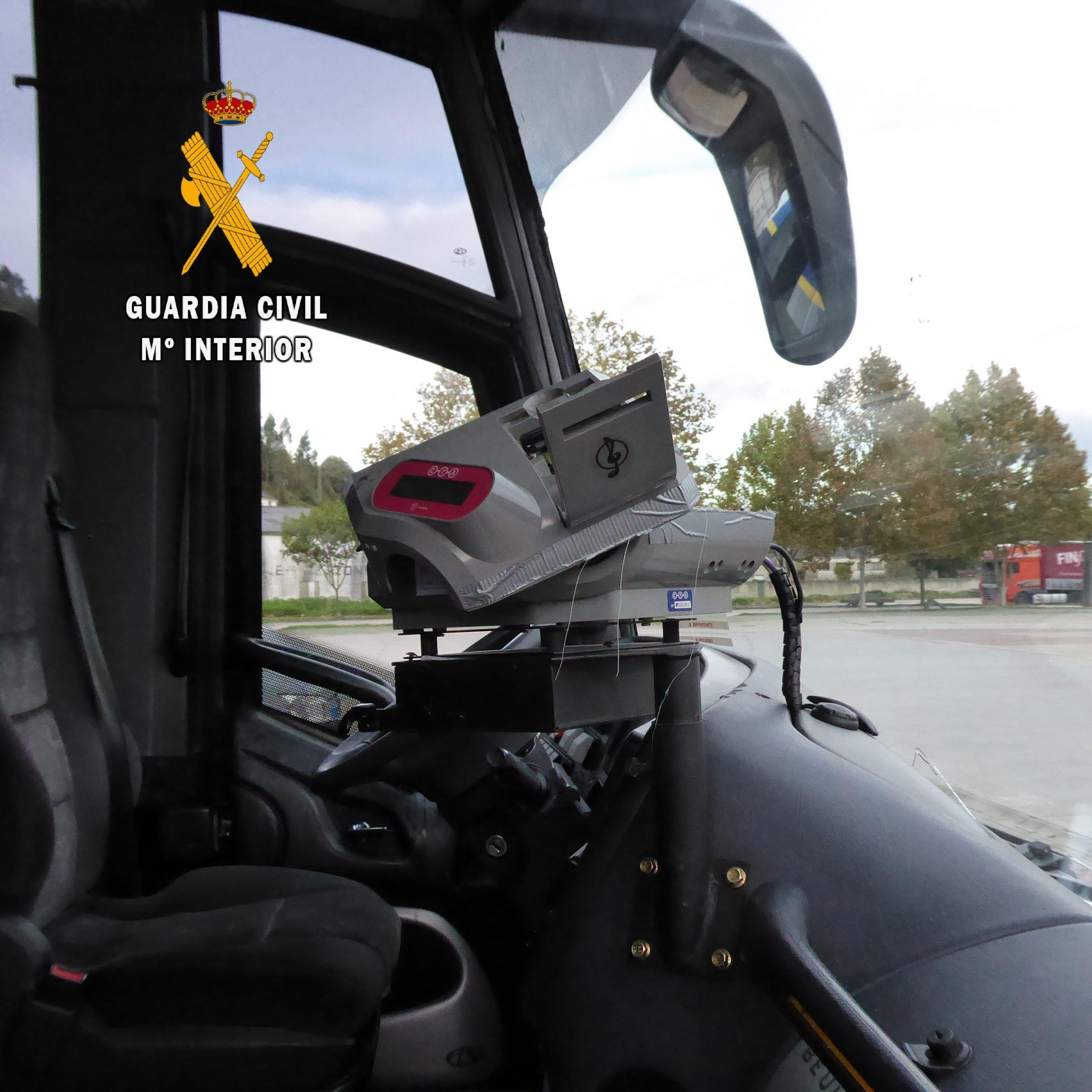 La Guardia Civil investiga al autor de los daños a tres autobuses de ALSA en Vegadeo