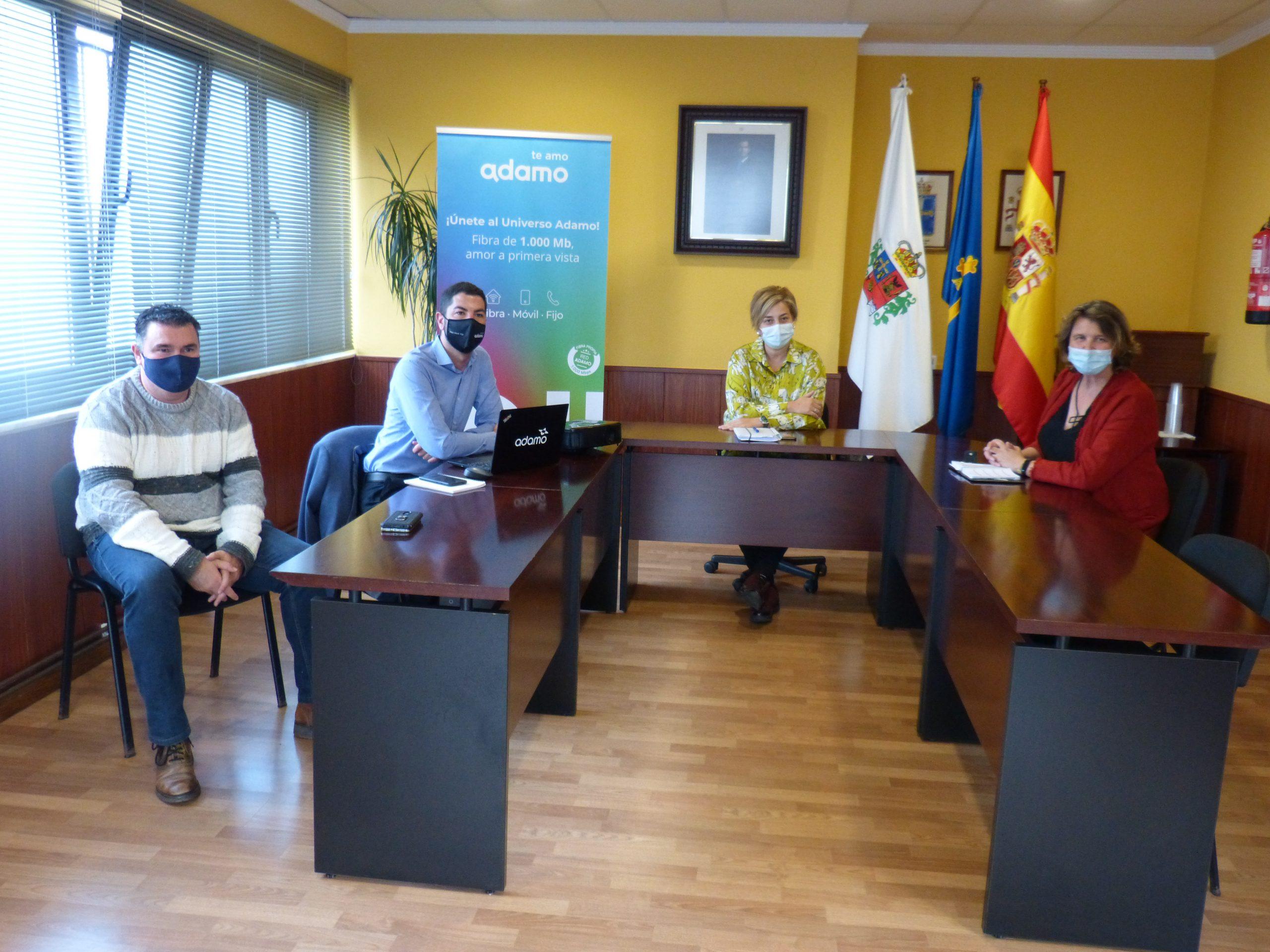 Casi 700 hogares del concejo de Coaña disfrutan ya de internet de alta velocidad