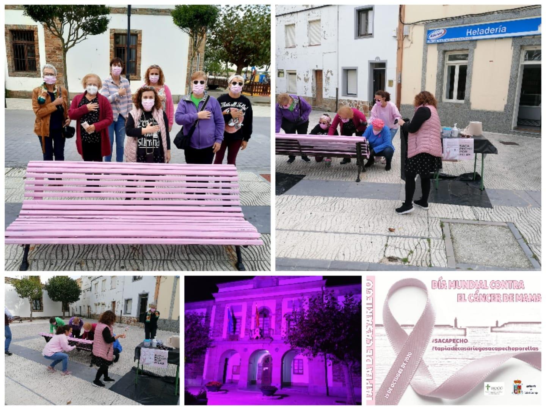 Tapia ha conmemorado el Día Mundial contra el cáncer de mama