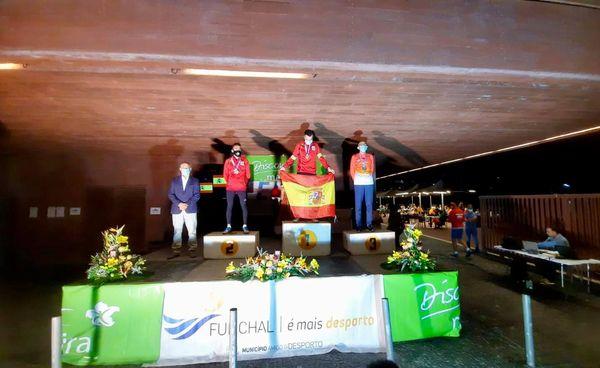El tinitense Manuel Ángel Fernández consiguió cuatro medallas en el Europeo Máster de Atletismo en Ruta