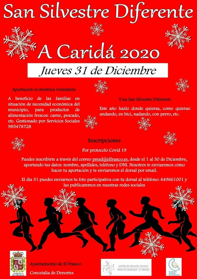 Preparativos de la San Silvestre de La Caridad que este año será diferente debido a la covid-19