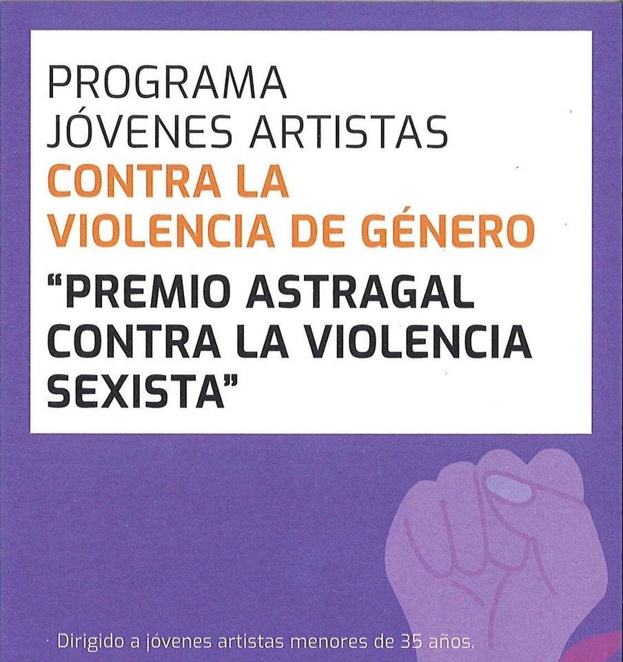 El Instituto Asturiano de la Juventud y el Conseyu de Mocedá de Xixón convocan el premio Astragal contra la violencia sexista