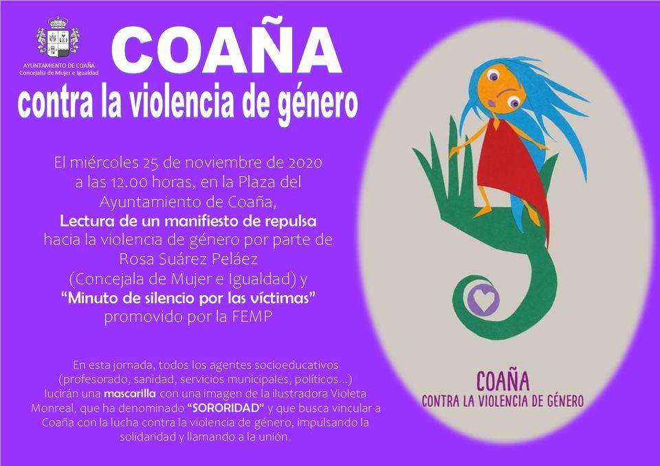 Coaña contra la Violencia de Género