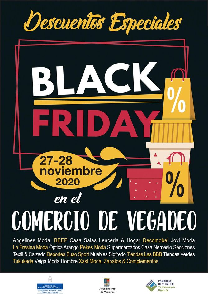 Comienza el Black Friday en el Comercio de Vegadeo
