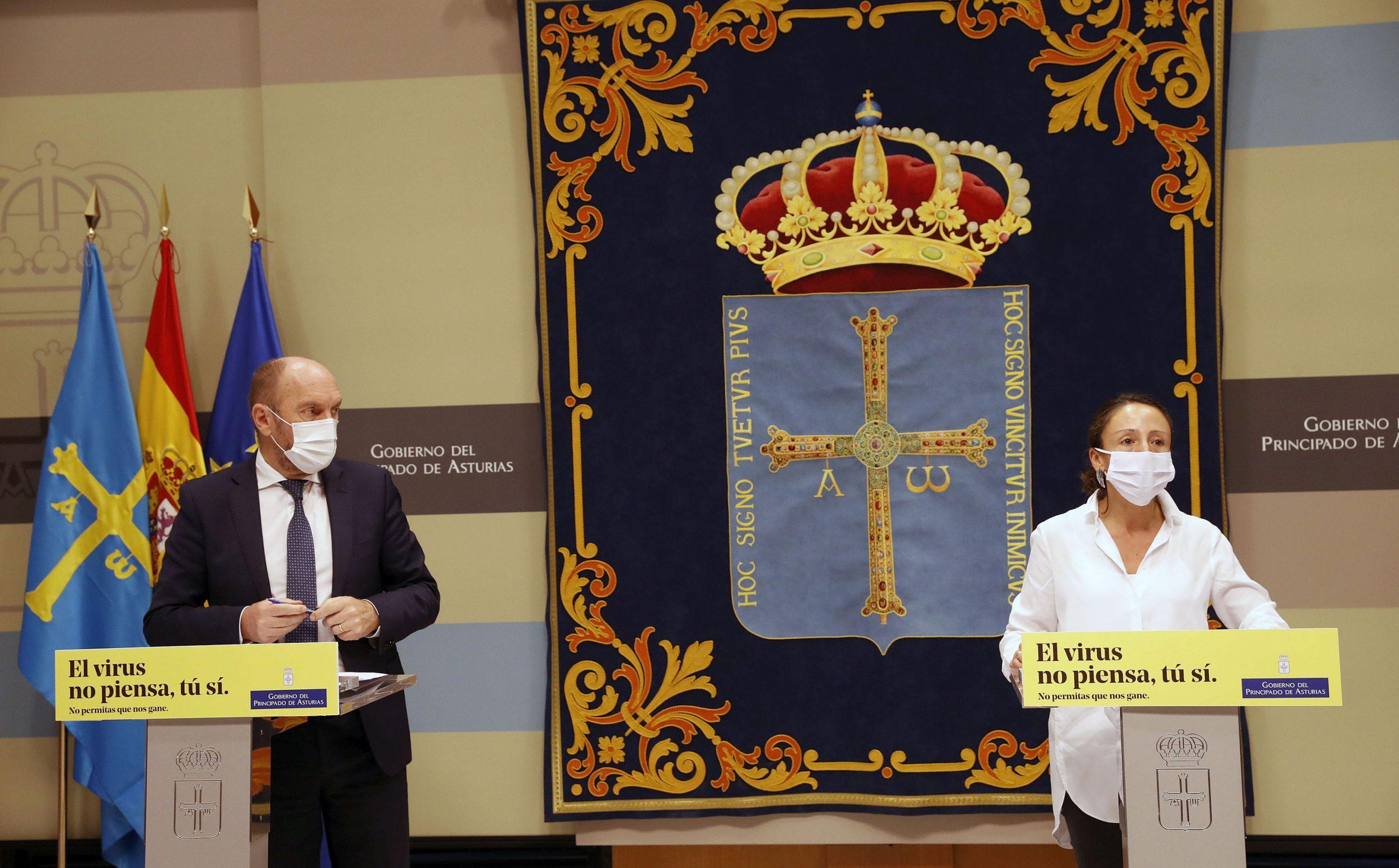 El Gobierno de Asturias moviliza 33,3 millones para apoyar a más de 17.650 profesionales afectados por la crisis sanitaria