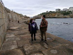 """""""Sin esta actuación de emergencia, el puerto de Tapia no podría aguantar"""""""