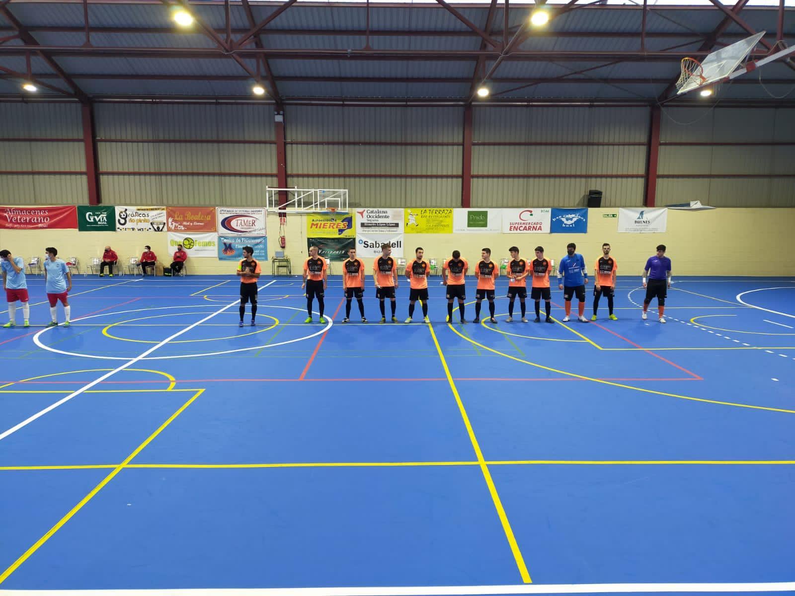 Boal FS iniciará la fase de permanencia en la pista del Sala Ourense