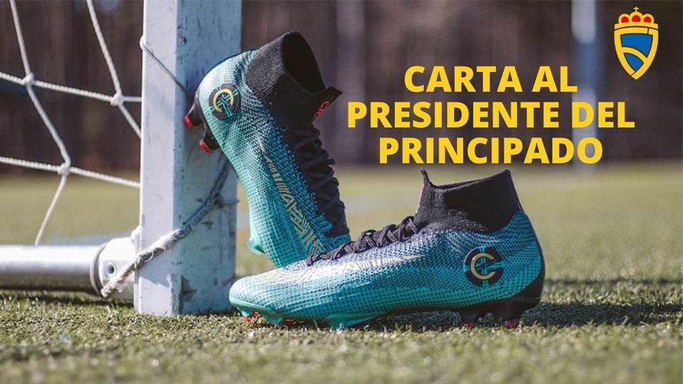 Carta de la familia del fútbol al Presidente del Principado de Asturias