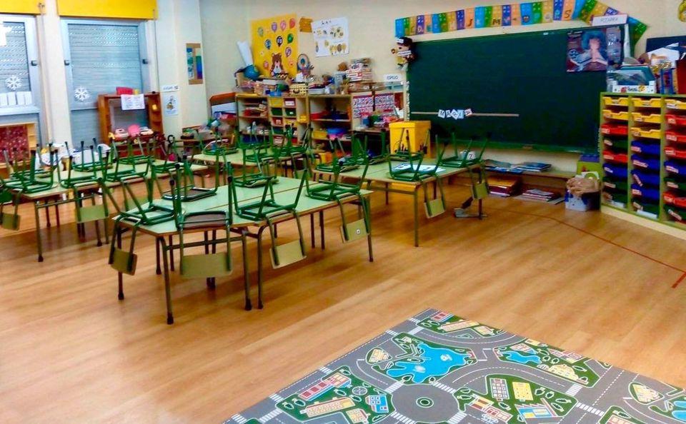 Asturias registra 26 aulas y 505 estudiantes confinados en la última semana por la incidencia de la covid en centros educativos